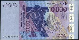 WEST AFRICAN STATES {Niger} - 10.000 Francs 2006 (2003) UNC P.618 Hd - Niger