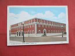 National Guard Armory  Peoria Illinois    Ref  3466 - Peoria