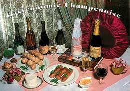 Dép 10 - Gastronomie Champenoise - Fromage De Chaource - Les Riceys ( Rosé ) - Andouillettes De Troyes - Vieux Marc - Autres Communes