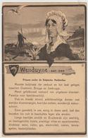 WENDUYNE - Carte Publicitaire - Wenduine