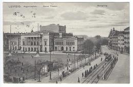 LEIPZIG - Augustusplatz - Neues Theater - Georgiring - 1913 - Leipzig