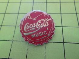 1010  Pin's Pins / Beau Et Rare : THEME : COCA-COLA / CAPSULE COCA-COLA MUSIC - Coca-Cola