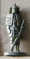 MONDOSORPRESA, (SLDN°22) KINDER FERRERO, SOLDATINI IN METALLO  SAMURAI 1150/1600, 35 MM -G37 - Figurine In Metallo