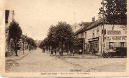 MERY SUR OISE Rue De Paris Le Carrefour - Mery Sur Oise