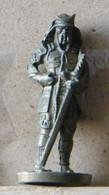 MONDOSORPRESA, (SLDN°25) KINDER FERRERO, SOLDATINI IN METALLO  SAMURAI 1150/1600, 35 MM -G41 - Figurines En Métal