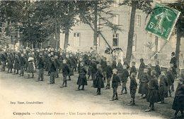60  CEMPUIS ORPHELINAT  PREVOST   LECON DE GYMNASTIQUE SUR LE TERRE PLEIN - France