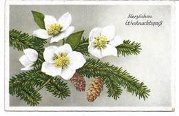 3096m: AK Weihnachtskarte Aus 2062 Seefeld-Kadolz, Gelaufen 1940 - Hollabrunn