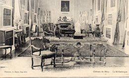 MERY SUR OISE Le Château La Bibliothèque - Mery Sur Oise