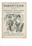 Catalogue De La SAMARITAINE Corsets Pour Dame Filettes Et Enfants Ceinture Orthopédiques  1900 - Mode