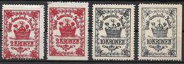 3096p: Baden Kurtaxe- Bzw. Schaumweinsteuermarken Postfrisch ** - Baden Bei Wien