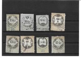 3096w: Lot Stempelmarken Monarchie - 1850-1918 Imperium