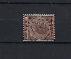N°19 (ntz) GESTEMPELD Pt192 Iseghem COB € 14,00 + COBA € 10,00 - 1865-1866 Profile Left