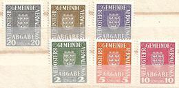 3096o: Niederösterreichische Gemeindeverwaltung, Serie ** - Unused Stamps