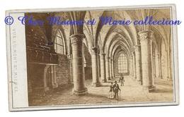 MONT SAINT MICHEL - VUE INTERIEURE - MANCHE - PHOTO CDV AVRANCHES - Anciennes (Av. 1900)