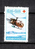 Finlandia  - 1966. Elicottero Della Croce Rossa. Red Cross Helicopter. MNH - Elicotteri