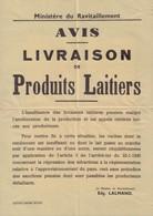 Affiche Ravitaillement 1945 - Plakate