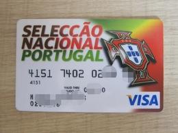 Portugal National Football Federation,VISA Card - Sport