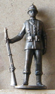 MONDOSORPRESA, (SLDN°31) KINDER FERRERO, SOLDATINI IN METALLO SOLDATI 19° SECOLO 40MM - Figurine In Metallo