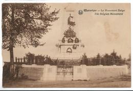 CPA PK  WATERLOO  LE MONUMENT BELGE - Non Classés
