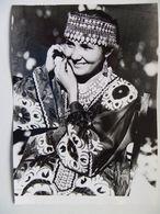 Photo For Media / Tadzykistan Folk Costume Woman  / Reproduction From The 80s - Tadjikistan