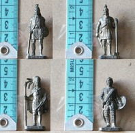 MONDOSORPRESA, (SLDN°32) KINDER FERRERO, SOLDATINI IN METALLO SERIE  VALORI INCAS 100/1500 CHR - Figurines En Métal