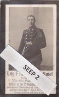 W.O.1 DP+foto Leo-Francies DE SMET Nederbrakel 1886-1915 In De Loopgrachten Aan Den Yzer (echtg. Van De Vyver) - Religion & Esotérisme