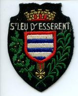 Ecusson ST LEU D'ESSERENT Blason Feutre Patch Tissu - Ecussons Tissu