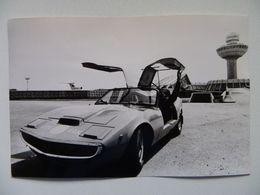 Photo For Media / Construction Car R Jordan Exhibition In Yerevan CCCP / Reproduction From  Press  / The 80s - Voitures De Tourisme