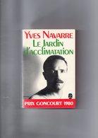 Yves Navarre. Le Jardin D'acclimatation. Prix Goncourt 1980. - Bücher, Zeitschriften, Comics