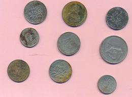 Petit Lot  Vrac De Pièces  -B 3670  ( Nature, Qualité Et état Des Pièces Voir Double Scan)-Envoi Gratuit - Monedas & Billetes