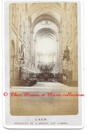 CAEN - INTERIEUR DE L ABBAYE AUX HOMMES - CALVADOS - PHOTO CDV - Anciennes (Av. 1900)
