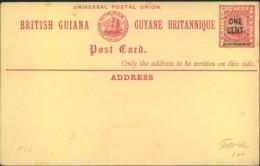 BRITISH GUIANA, Statinonery Card - Seescan - Non Classificati