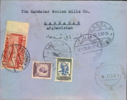 1952, AFGHANISTAN Registered Letter - See Scan - Timbres