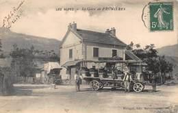 CPA LES ALPES - La Gare De PRUNIERES - Autres Communes