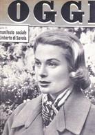 (pagine-pages)GRACE KELLY  Oggi1957/05. - Books, Magazines, Comics