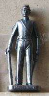 MONDOSORPRESA, (SLDN°36) KINDER FERRERO, SOLDATINI IN METALLO NORDISTA 1861 - RP  1482 40 MM - Figurines En Métal