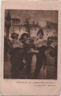 Angelo Dall'Oca Bianca (Verona 1858-1942): Frammento Del Quadro Primavera. Viaggiata 1927 Da Torri Del Benaco - Pittura & Quadri
