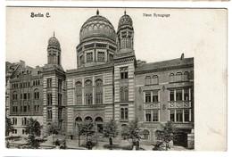 Berlin - Neue Synagoge - Edit. E. Nixdorf - Synagogue - 2 Scans - Germany