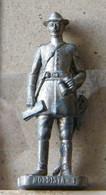 MONDOSORPRESA, (SLDN°38) KINDER FERRERO, SOLDATINI IN METALLO NORDISTA 1861 - RP  1482 40 MM - Figurines En Métal