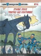 """LES TUNIQUES BLEUES  """" STARK SOUS TOUTES LES COUTURES """"   -  LAMBIL / CAUVIN   - E.O.  SEPTEMBRE 2007  DUPUIS - Tuniques Bleues, Les"""