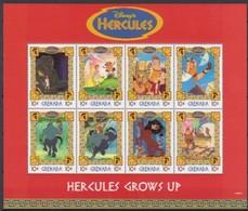 2503a  Walt Disney  Grenada  Hercules - Grenade (1974-...)