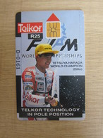 Telkor Trail Chip Phonecard,Motorcycle Championship,mint - South Africa