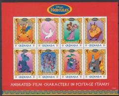 2503d  Walt Disney  Grenada  Hercules - Grenade (1974-...)