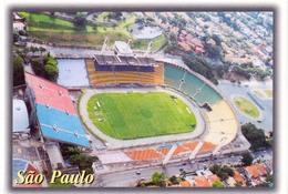 Postcard Stadium Sao Paulo Brazil Pacaembu Stadion Stadio Estadio Stade Sports Football Soccer - Fussball