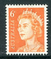 Australia 1966-73 Decimal Currency Definitives - 6c Orange MNH (SG 387a) - Mint Stamps