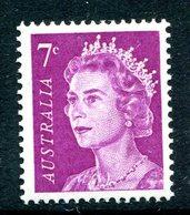 Australia 1966-73 Decimal Currency Definitives - 7c Purple MNH (SG 388a) - Mint Stamps
