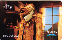 ARGENTINA - Lama, Telecom Global Prepaid Card $10, Exp.date 22/11/02, Used - Phonecards