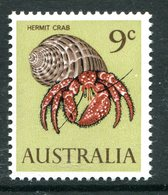 Australia 1966-73 Decimal Currency Definitives - 9c Hermit Crab MNH (SG 390) - Mint Stamps