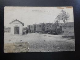 RONSENAC (Charente) La Gare Avec Train Et Animation - Autres Communes