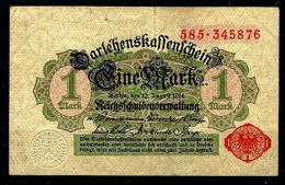 ALLEMAGNE Billet 1 Mark 1914 - [ 2] 1871-1918 : Impero Tedesco